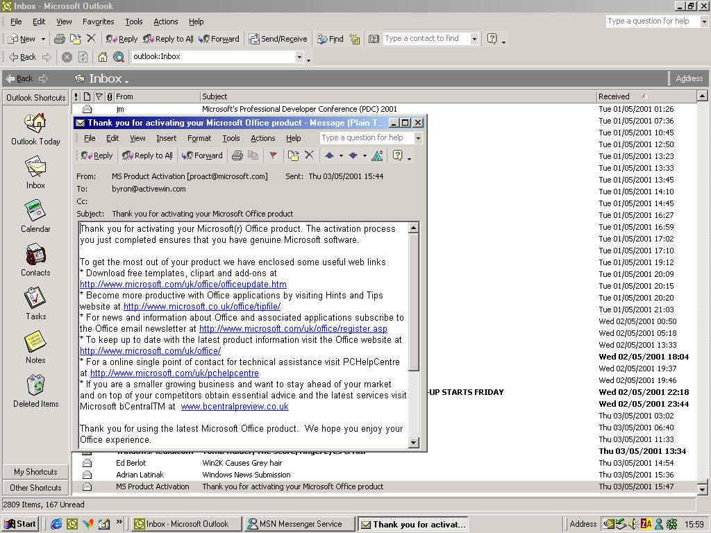 Server 2003, which all include the FPSE as a separately installable Prod